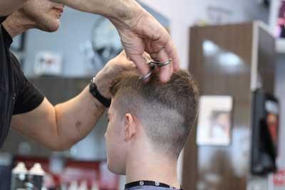 hairdressers men's cut West Auckland