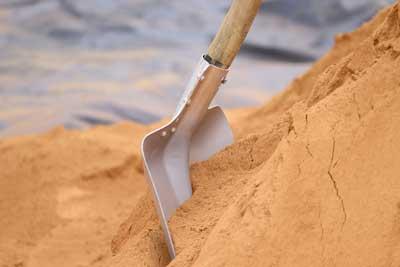landscape supplies sand