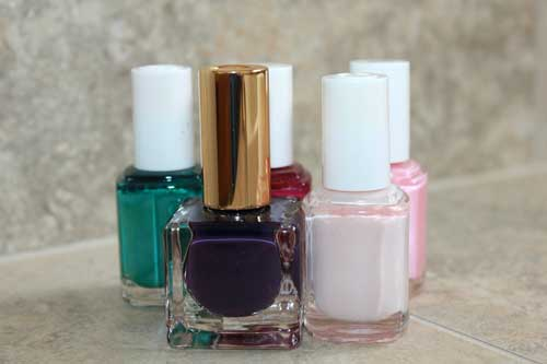 Nail manicure products, Nail Salon West Auckland NZ